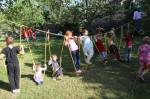 Lanová dráha v Otevřené zahradě